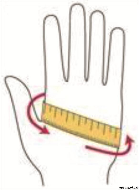 Размер перчатки