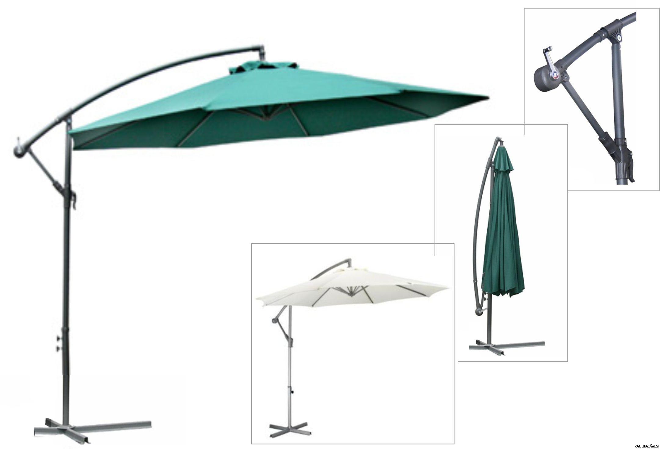 Зонтик уличный своими руками