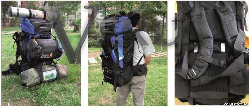 Конструкция рюкзака состоит из погрузочной камеры (с карманами или без), узлов для внешней навески снаряжения