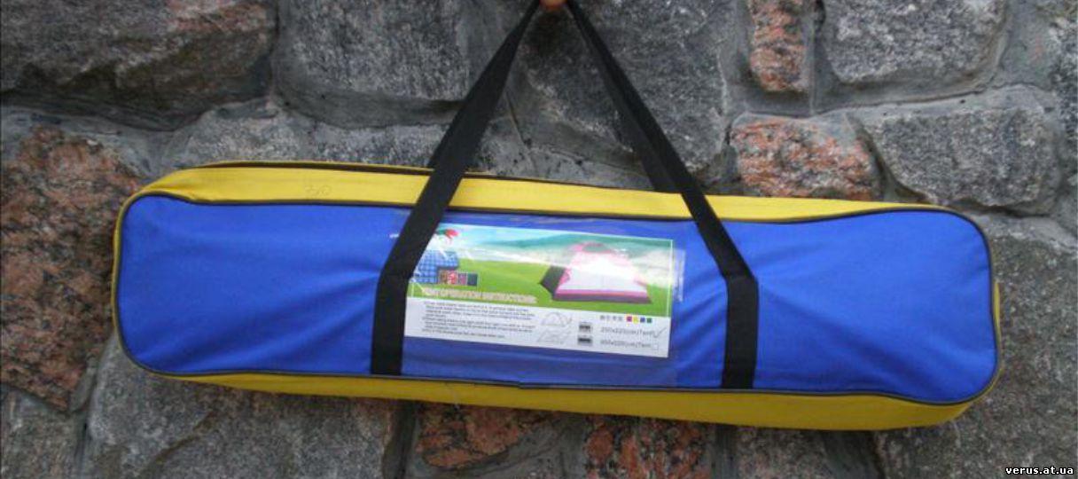 Палатка в упаковке